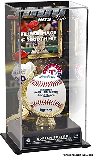 Adrian Beltre Texas Rangers 3,000th Career Hit Sublimated Display Case with Image - Fanatics Authentic Certified