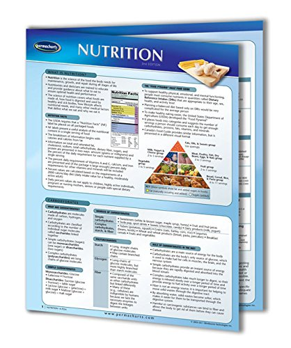 Nutrition Guide - Health and Wellness Quick Reference Guide by Permacharts