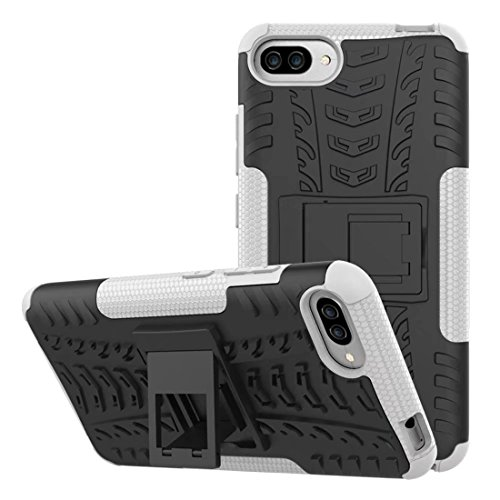 Shockproof Armor TPU/PC Case for Asus Zenfone Max (White) - 2