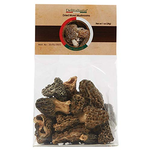 (Dried Morel Mushrooms 1 Ounce)