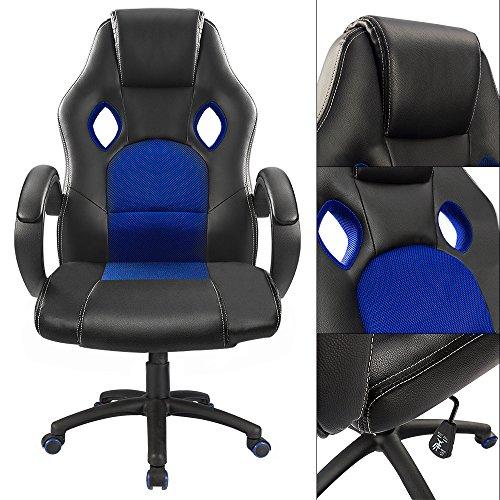 homall ergonomic series executive computer gaming office racing