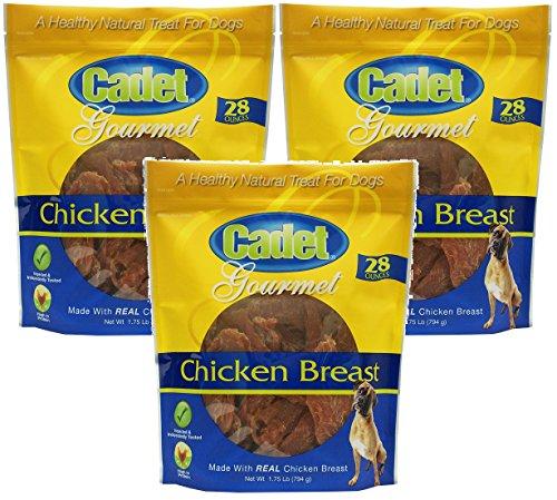 (3 Pack) Cadet Chicken Breast Dog Treats 28oz