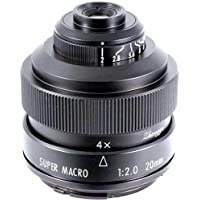 Mitakon 20mm f/2 Super Macro for Micro 4/3 Mirrorless Digital Cameras