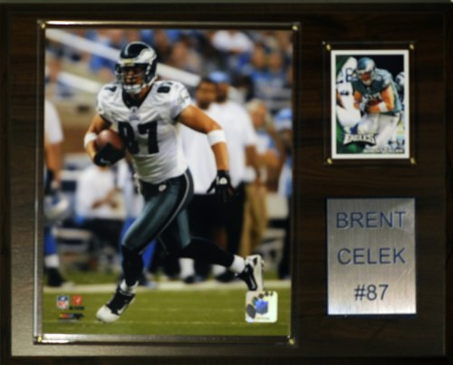 NFL Brent Celek Philadelphia Eagles Player Plaque