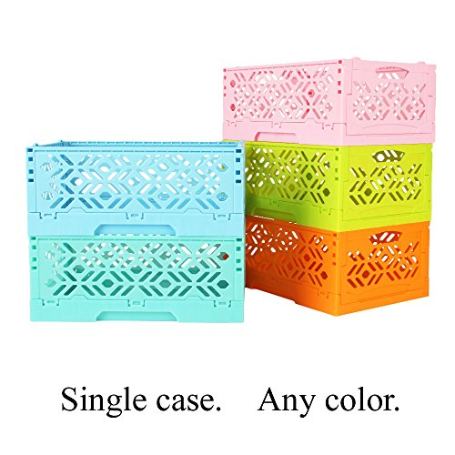 DESK STORAGE BOX for Remote Control Holder Desktop Stationery Small Accessories Caddy in Livingroom Bathroom Kitchen 1 PCS ( Salmon - Sunglasses Order Mail