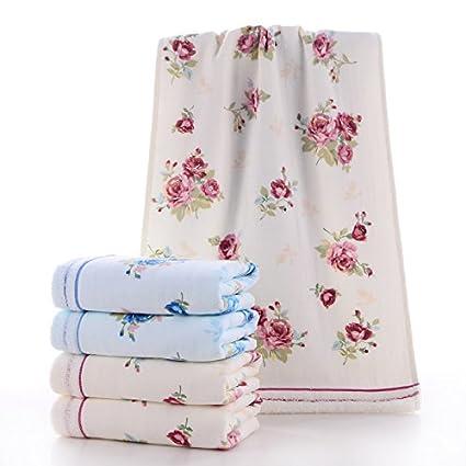 KUKE Toalla de algodón turco 100% genuino, suave, extra para adultos/niños