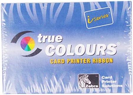 Amazon Com 800015 440 Ribbon P330i P430i True Colours Ribbon Fit For Zebra Iseries Id Card Printer Ymcko 200 Prints Electronics