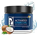 Aslanda Natural Teeth Whitening Powder - Made with Activated Coconut Charcoal - for Sensitive Teeth and Healthy Whitener