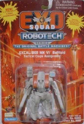 "Robotech Excaliber MK Vl Battloid Tactical Corps Assignment 3"" Action Figure (1994 Playmates)"