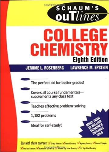 Schaum's Outline of College Chemistry: Jerome L Rosenberg, Lawrence