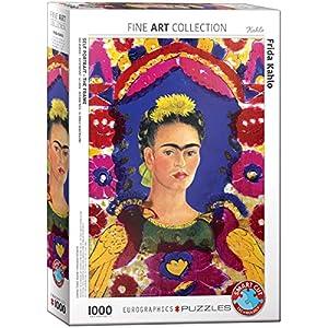 Eurographics 6000 5425 Puzzle Ritratto Di Frida