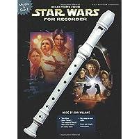 Selecciones de Star Wars para grabadora: solo libro (Music Is Fun)