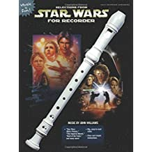 Selections from Star Wars for Recorder: Book Only (Music Is Fun)