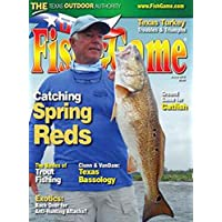 1-Year (12 Issues) of Texas Fish & Game Magazine Subscription