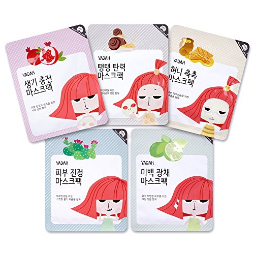 YADAH-Five-Self-Care-Mask-Pack