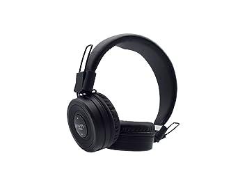 Vieta VHP-BT280BK - Auricular de Diadema con Bluetooth, Color Negro