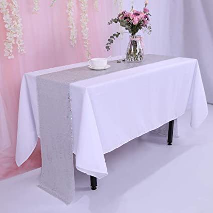 Trlyc 12 X108 Sale Choose Your Size Sequin Tablecloth Wedding Table Runner Tablecloth Custom Chevron Sequin Table Runner
