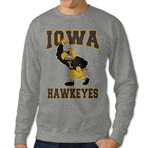 - Men Iowa Hawkeyes UI Football Pullover Hoodies