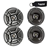 Polk Audio - Two Pairs of DB652 6.5' Coaxial Speakers - Marine and Powersports Certification