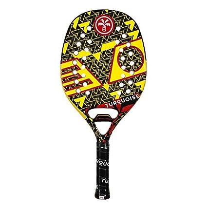 Amazon.com: Raqueta turquesa Raqueta Playa Tenis Evo 2019 ...