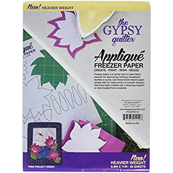 Amazon.com: C. Jenkins 50 hojas de papel para congelador ...