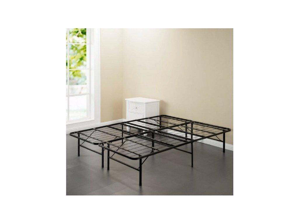 Spa Sensations Steel Smart Base Bed Frame Black, Multiple Sizes (Queen)