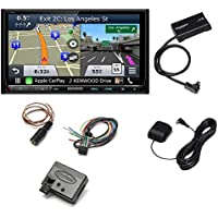 Kenwood DNX893S 6.95 eXcelon Double-DIN AV Navigation System With Bluetooth With SXV-300V1 SAT TUNER And Metra Axxess ASWC-1 Universal Steering Wheel Control Interface