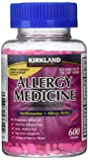Diphenhydramine HCI 25 Mg - Kirkland Brand - Allergy Medicine and AntihistamineCompare to Active Ingredient of Benadryl® Allergy Generic - 600 Count