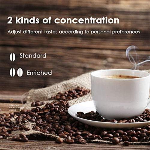 KEKEYANG Café Entièrement automatique café américain Maker 1-5 tasses Machine à café Mini ménagers Café machine américaine thé Machine