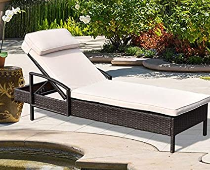 Amazon.com: Lounge Chairs for Pool Area-Tanning Chairs for ...