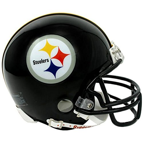 Riddell Pittsburgh Steelers Replica Mini Helmet w/ Z2B Face Mask -