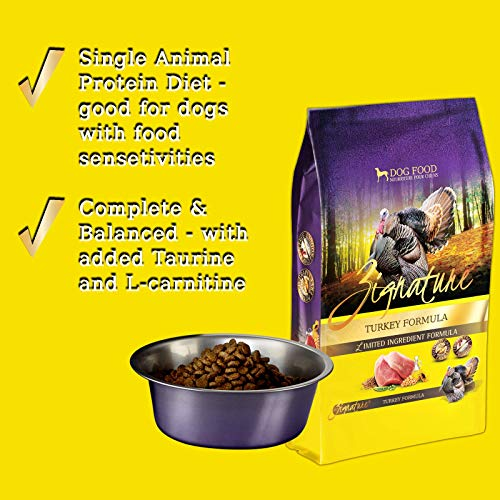 51uHNpMODeL. SS500  - Zignature Turkey Dry Dog Food