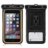 Waterproof Case, Sahara Sailor Waterproof Phone Case Dry Bag Bike Phone Mount Fluorescent Strip for iPhone 7 6 6S Plus Samsung Galaxy S7 S6 S5 Note 5