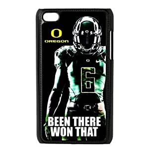 DIY Design Dream 20 Sports NCAA Oregon Ducks Footballl Print Black Case With Hard Shell Cover For Case HTC One M7 Cover-Just DO It