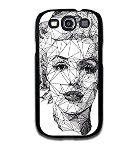 Tomhousomick Custom Design Women's Fashion Cases Sexy Star Marilyn Monroe Style Case for Samsung Galaxy S3 Back Cover #86