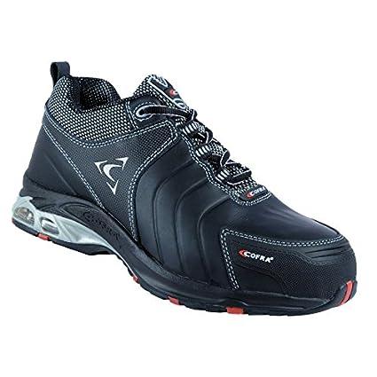 Talla Cofra Seguridad New Dragon Src 43 Par De Zapatos S3 Negro 008rd6xq