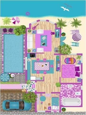 Ladole Rugs Distresed Kids Playroom Room Decor Little Girl Boy Bedroom Nursery 4976581120 Clay Doll House Flatweave Play Area Rug 5 2 x 7 5