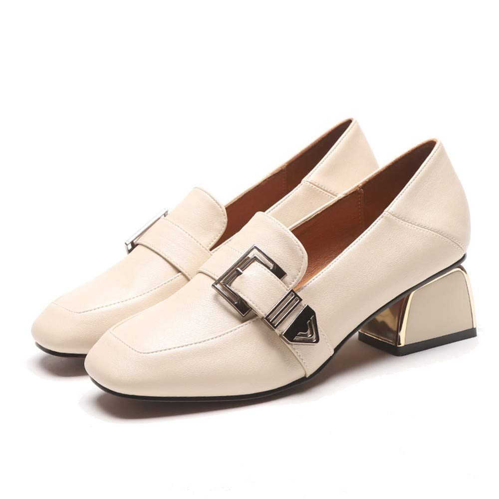 Mocasines Primavera con Un Solo Zapato Femenino Viento Británico ...
