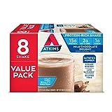Atkins Gluten Free Protein-Rich Shake, Milk Chocolate Delight, 8 Count