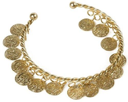 [Rubie's Costume Co Gold Coins Bracelet Costume] (Gold Halloween Costume)
