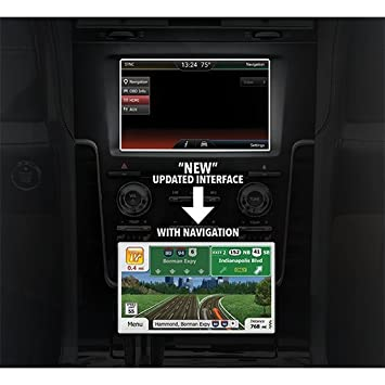 Advent Expnav Fully Integrated Navigation System For Select Ford