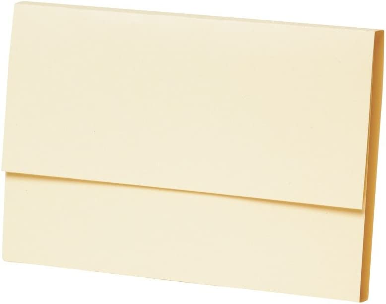 Apothecary Products Manila Folders | For Paper, Files, Documents | XL Double Fold | Pack of 100