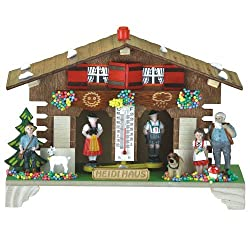 German Black Forest weather house Heidi TU 833