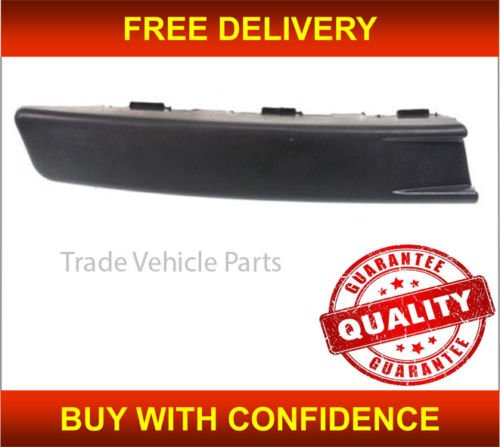 Trade Vehicle Parts VK2232 Front Bumper Moulding Black Passenger Side Generic