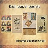 "IDL Packaging Large Brown Kraft Paper Roll 18"" x"