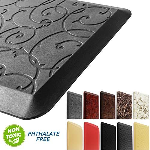 Original Anti Fatigue Kitchen Mat Nonslip Waterproof Cushioned Comfort Floor Standing Mats for Kitchens Office Desks W20x L30x H3/4