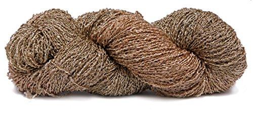 Fiesta Yarns Hand Dyed Rayon Boucle Yarn, Pin (Fiesta Knitting Yarn)