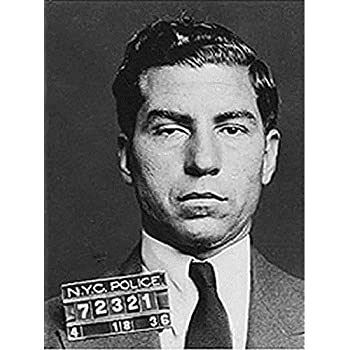 Amazon.com: motivational quote poster LUCKY LUCIANO american ...