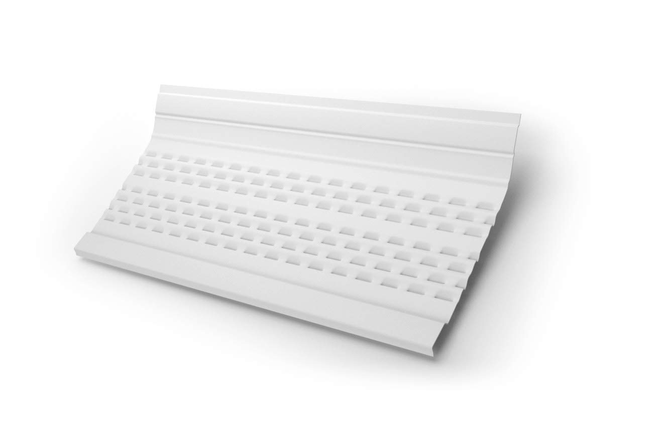 -Covers 100 feet for 7 Gutters White E-Z-GUTTER GUARD GG7EZLEAFPRO-BX E-Z-Leaf Protection Guards 25-4 Foot Sections