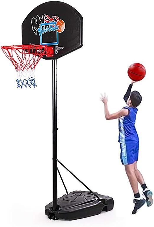 Canasta de Baloncesto Soporte De Baloncesto para Niños: Sistema De ...